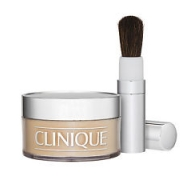 Clinique Blended Face Powder and Brush Transparency 20 Invisible Blend