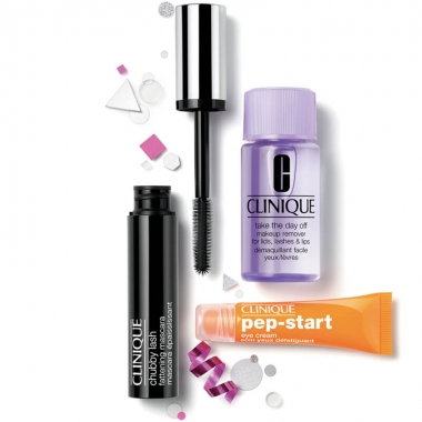 Clinique Chubby Lash Bright All Night Mascara Set