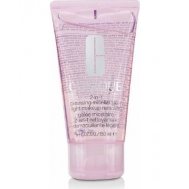 Clinique 2 - in - 1 Micellar Gel + Light Makeup Remover 150ml