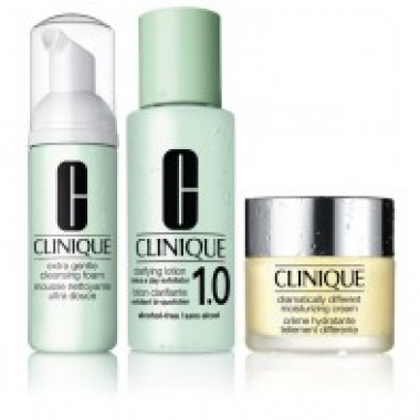 Clinique 3 Step Skin Care Introduction System Skin Extra Gentle