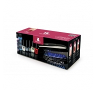 Red Carpet Manicure Starter Kit with Portable LED Light
